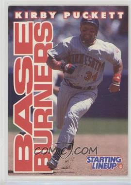 1996 Starting Lineup Cards - [Base] #34 - Kirby Puckett