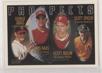 George Arias, Scott Rolen, Scott Spiezio, Chris Haas