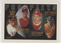 George Arias, Scott Rolen, Scott Spiezio, Chris Haas