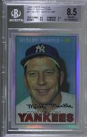 Mickey Mantle (1967 Topps) [BGS8.5NM‑MT+]