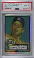 Mickey Mantle (1952 Topps) [PSA8NM‑MT]