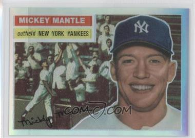 1996 Topps - Mickey Mantle Commemorative Reprints - Finest Refractors #6 - Mickey Mantle (1956 Topps)