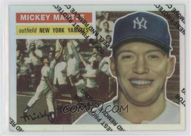 1996 Topps Mickey Mantle Commemorative Reprints Finest