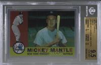 Mickey Mantle (1960 Topps) [BGS 9.5 GEM MINT]