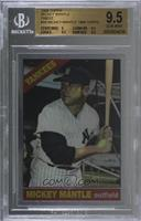Mickey Mantle (1966 Topps) [BGS9.5GEMMINT]