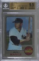 Mickey Mantle (1968 Topps) [BGS 9.5 GEM MINT]