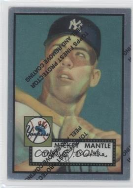 1996 Topps - Mickey Mantle Commemorative Reprints - Finest #2 - Mickey Mantle (1952 Topps)