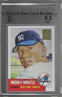 Mickey Mantle (1953 Topps) [BRCR 8.5]