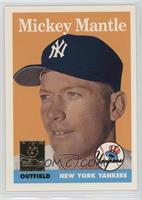 Mickey Mantle (1958 Topps) [Noted]