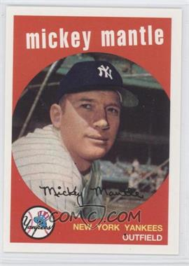 1996 Topps - Redemption Mickey Mantle Sweepstakes #1959 - Mickey Mantle /2500