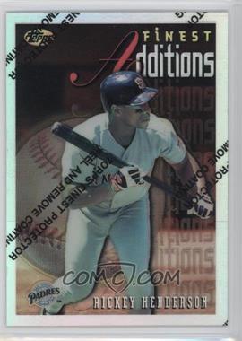 1996 Topps Finest - [Base] - Refractor #229 - Rickey Henderson