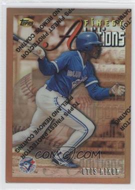 1996 Topps Finest - [Base] - Refractor #269 - Otis Nixon
