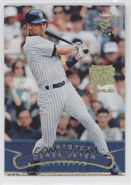 1996 Topps Stadium Club - Extreme Players - Gold #DEJE - Derek Jeter