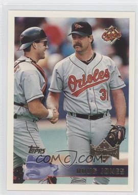 1996 Topps Team Topps - Wal-Mart Baltimore Orioles #183 - Doug Jones