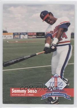 1996 Tulsa Drillers 20th Anniversary - [Base] #12 - Sammy Sosa