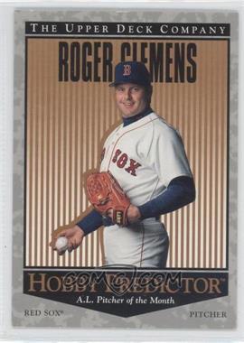 1996 Upper Deck - Hobby Predictor #H11 - Roger Clemens