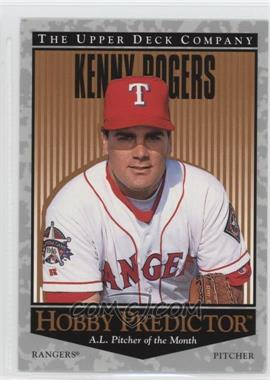 1996 Upper Deck - Hobby Predictor #H18 - Kenny Rogers