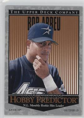 1996 Upper Deck - Hobby Predictor #H51 - Bobby Abreu