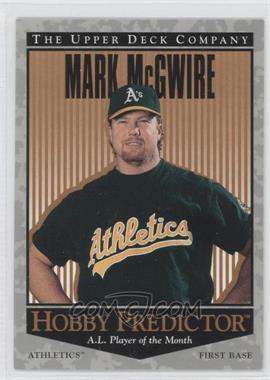 1996 Upper Deck - Hobby Predictor #H7 - Mark McGwire