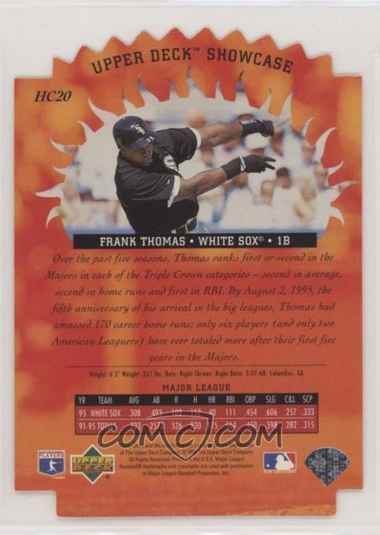 1996 Upper Deck - Hot Commodities #HC20 - Frank Thomas