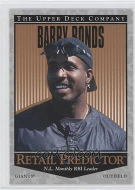1996 Upper Deck - Retail Predictor #R43 - Barry Bonds
