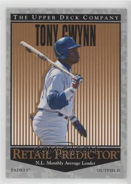 1996 Upper Deck - Retail Predictor #R57 - Tony Gwynn