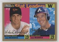 Greg Maddux, Mike Mussina