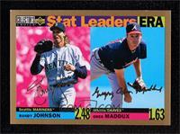 Randy Johnson, Greg Maddux