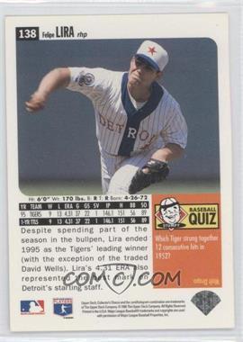 1996 Upper Deck Collector's Choice - [Base] #138 - Felipe Lira - Courtesy of COMC.com