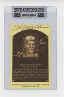 Billy Williams [CAS Certified Sealed]