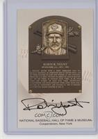 Robin Yount (Hall of Fame Logo on Back) [Noted]