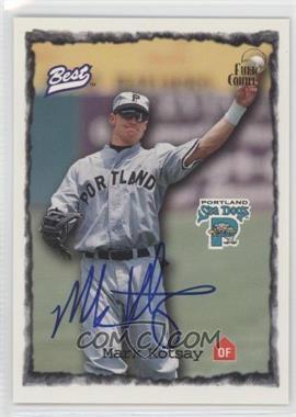 1997 Best Autograph Series - Full Count Autographs #MAKO - Mark Kotsay