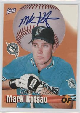 1997 Best Autograph Series - Limited Autographs #MAKO - Mark Kotsay /250