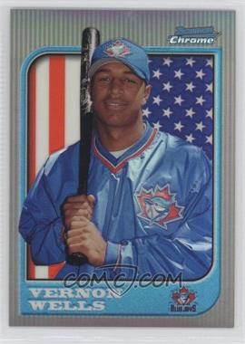 1997 Bowman Chrome - [Base] - International Refractor #284 - Vernon Wells