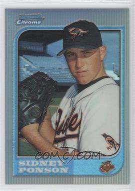 1997 Bowman Chrome - [Base] - Refractor #102 - Sidney Ponson
