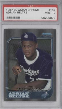 1997 Bowman Chrome - [Base] #182 - Adrian Beltre [PSA 9]