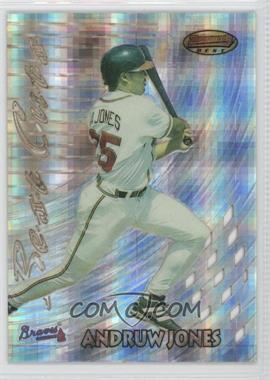 1997 Bowman's Best - Best Cuts - Atomic Refractor #BC14 - Andruw Jones