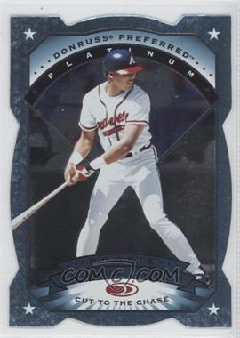 1997 Donruss Preferred - [Base] - Cut to the Chase #143 - Platinum - Andruw Jones