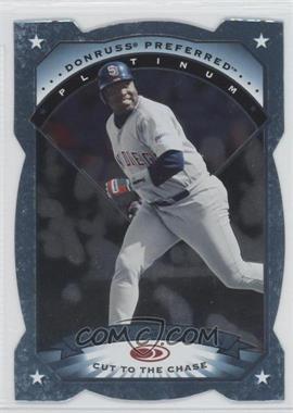 1997 Donruss Preferred - [Base] - Cut to the Chase #46 - Platinum - Tony Gwynn