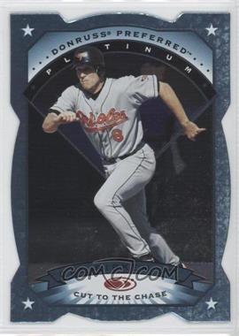 1997 Donruss Preferred - [Base] - Cut to the Chase #98 - Platinum - Cal Ripken Jr.