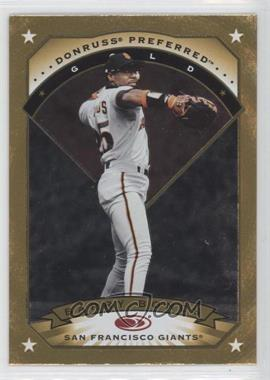 1997 Donruss Preferred - [Base] #94 - Gold - Barry Bonds