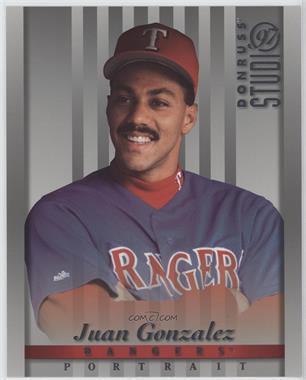 1997 Studio Baseballcardpediacom