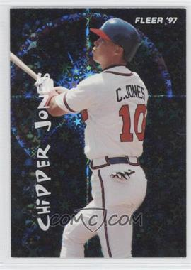 1997 Fleer - Soaring Stars #7 - Chipper Jones
