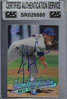 Jason Isringhausen [CAS Certified Sealed]