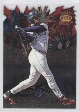 1997 Pacific Crown Collection - Fireworks Die-Cuts #FW-11 - Ken Griffey Jr.