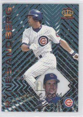 1997 Pacific Crown Collection Prism - [Base] - Light Blue #88 - Ryne Sandberg
