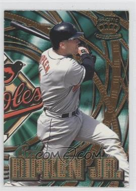 1997 Pacific Crown Collection Prism - Sluggers & Hurlers #SH-1A - Cal Ripken Jr.