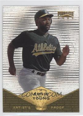 1997 Pinnacle - [Base] - Museum Collection Artist's Proof #75 - Ernie Young