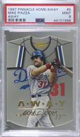 Away - Mike Piazza [PSA 9 MINT]