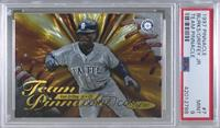 Ken Griffey Jr., Ellis Burks [PSA 9 MINT]